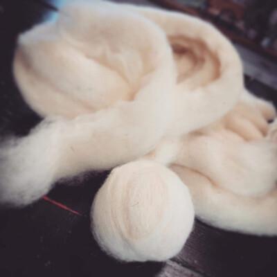 Frostad Farms Finnsheep Wool Dryer Balls 3 Pack