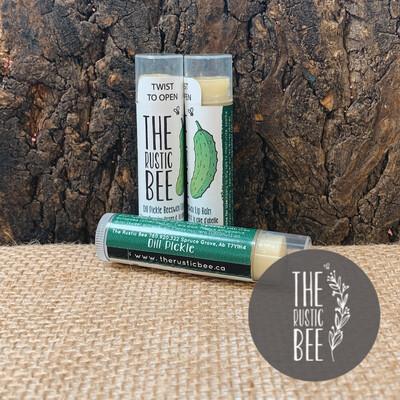 Dill Pickle Beeswax Lip Balm Tube 4g