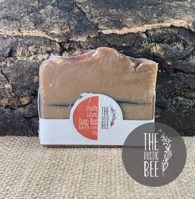 Chipoltle Caramel Handmade Soap 120g