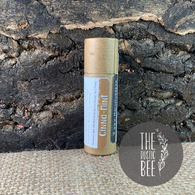 Cinna Mint Beeswax Lip Balm in Paperboard Tube 12g