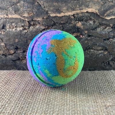 Mermaid Toy Fizzy Bath Bomb