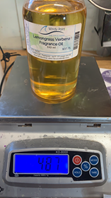Lemongrass Verbena Fragrance Oil 510ml Windy Point