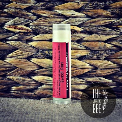 Sweet Pom Beeswax Lip Balm Tube 4g