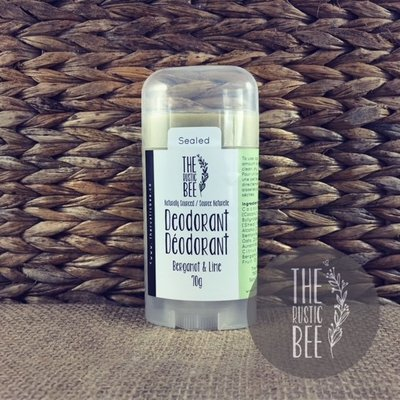 Bergamot & Lime Naturally Sourced Deodorant 70g
