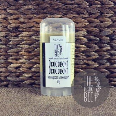 Lemongrass & Eucalyptus Naturally Sourced Deodorant 70g