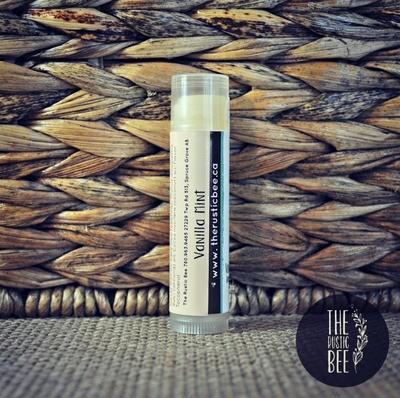 Vanilla Mint Beeswax Lip Balm Tube 4g