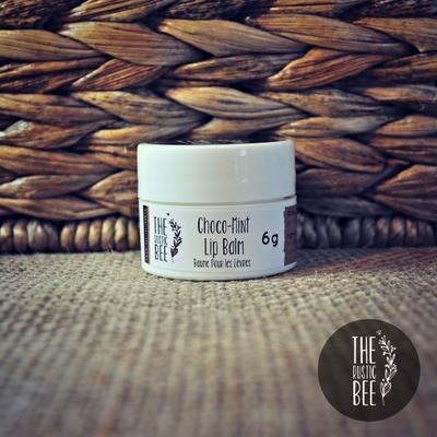 Choco Mint Beeswax Lip Balm Jar 6g