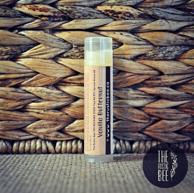 Vanilla Butternut Beeswax Lip Balm Tube 4g