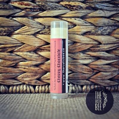 Cherry Chocolate Beeswax Lip Balm Tube 4g