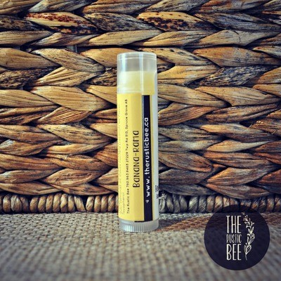 Banana-Rama Beeswax Lip Balm Tube 4g