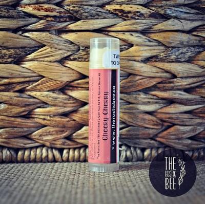 Cheery Cherry Beeswax Lip Balm Tube 4g
