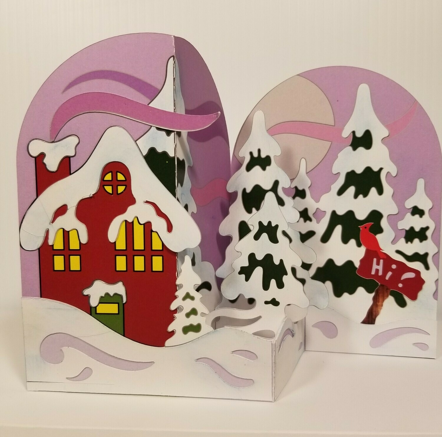 Snowed In - Pop Up Card