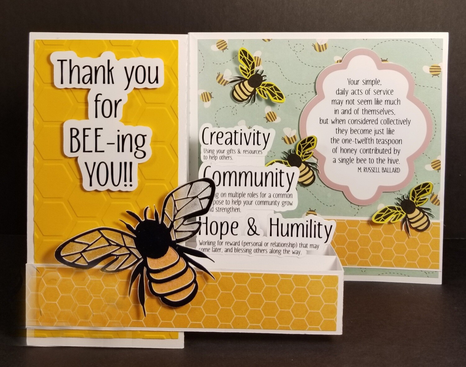 Thank you for BEE-ing You!