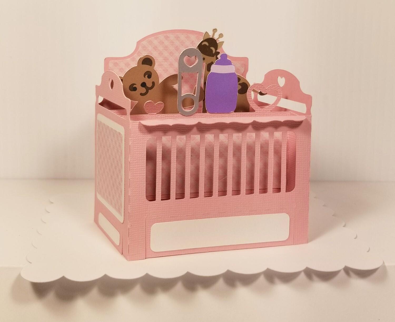 Baby Crib - GIRL