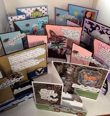 CUSTOM KEEPSAKE CARDS - Let us design one JUST FOR YOU