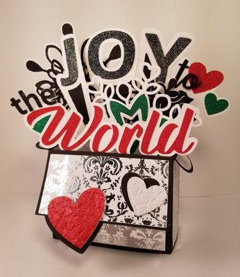 Joy to the World Box Card