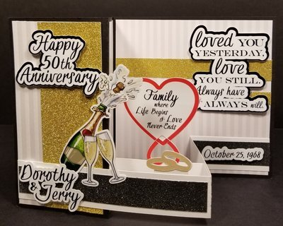 Custom 50th Wedding Anniversary