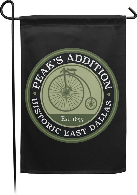Peak's Addition Garden Flag