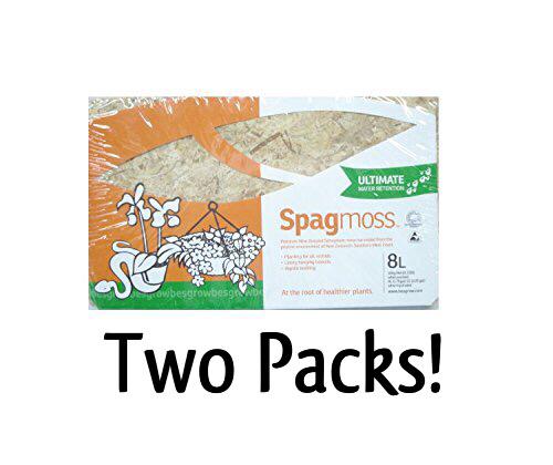 Sphagnum Moss Spagmoss 2 x 100g