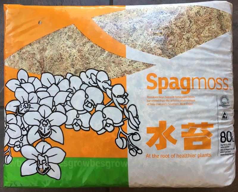 Sphagnum moss Spagmoss 1kg/80L