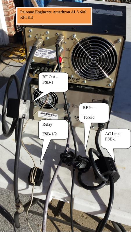 1199658031 - HF Amplifier RFI Kits