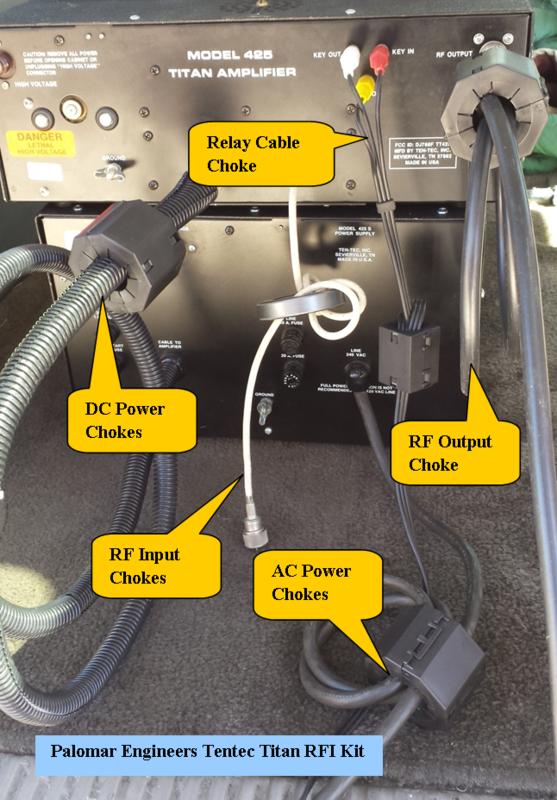 581480082 - HF Amplifier RFI Kits