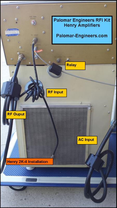 581498332 - HF Amplifier RFI Kits