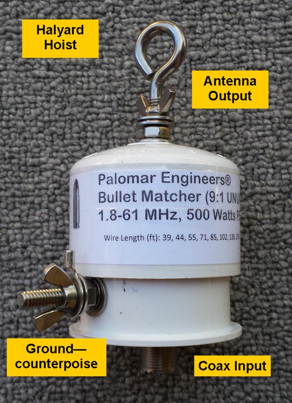 601863914 - Bullet(TM) Baluns/Ununs