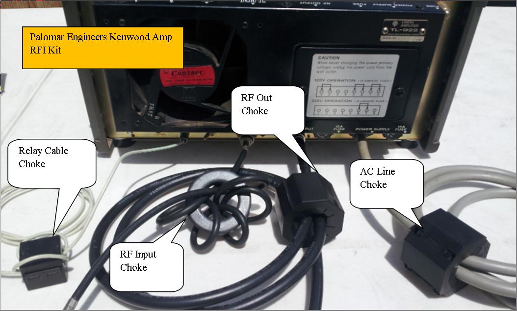 983046581 - HF Amplifier RFI Kits