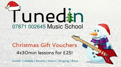 Introductory Christmas Voucher (4x30min lessons) Four lessons for £25!