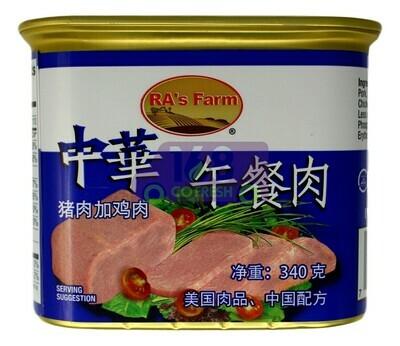 Ra's Farm Luncheon Meat 中华 午餐肉