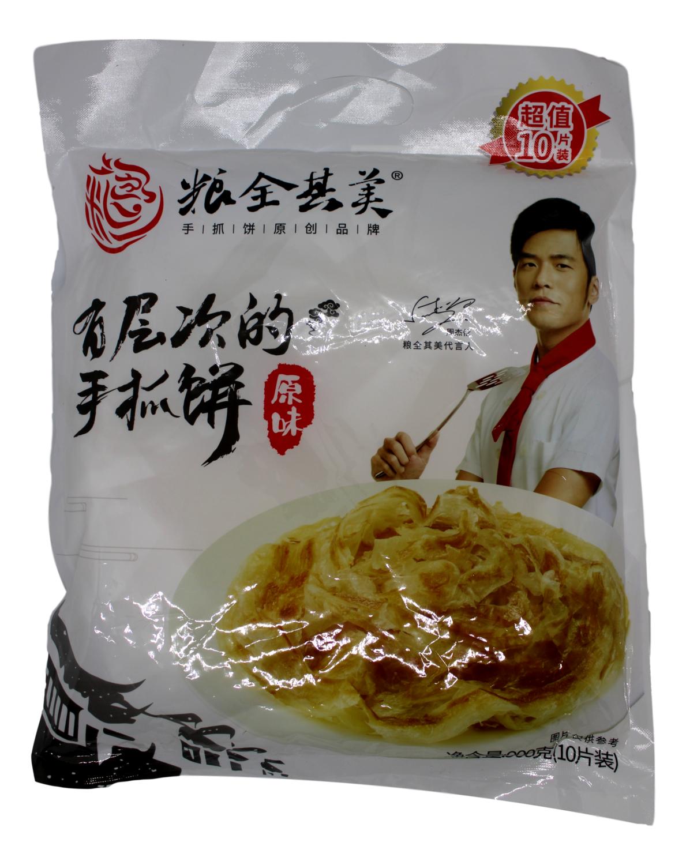 Puff Paratha粮全其美手抓饼 原味(900g)