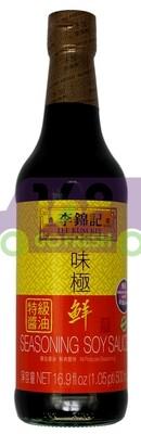 LKK Seasoning Soy Sauce 李锦记 味极鲜 16.9 FL OZ