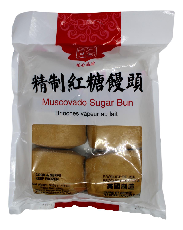 Muscovado Sugar Bun 一日三餐 红糖馒头(540G)