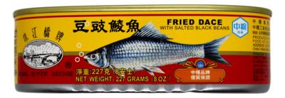 Pearl Rive Bridge Fried Dace 珠江桥牌 豆豉鲮鱼