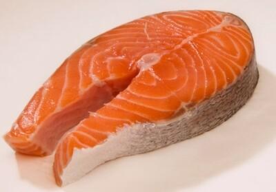(只限 星期一 星期五,星期六 星期天供应)Fresh Salmon Steak 新鲜三文鱼块(2LB装)
