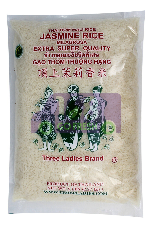 Three Ladies Jasmine Rice 三仙女 茉莉香米(5LB)