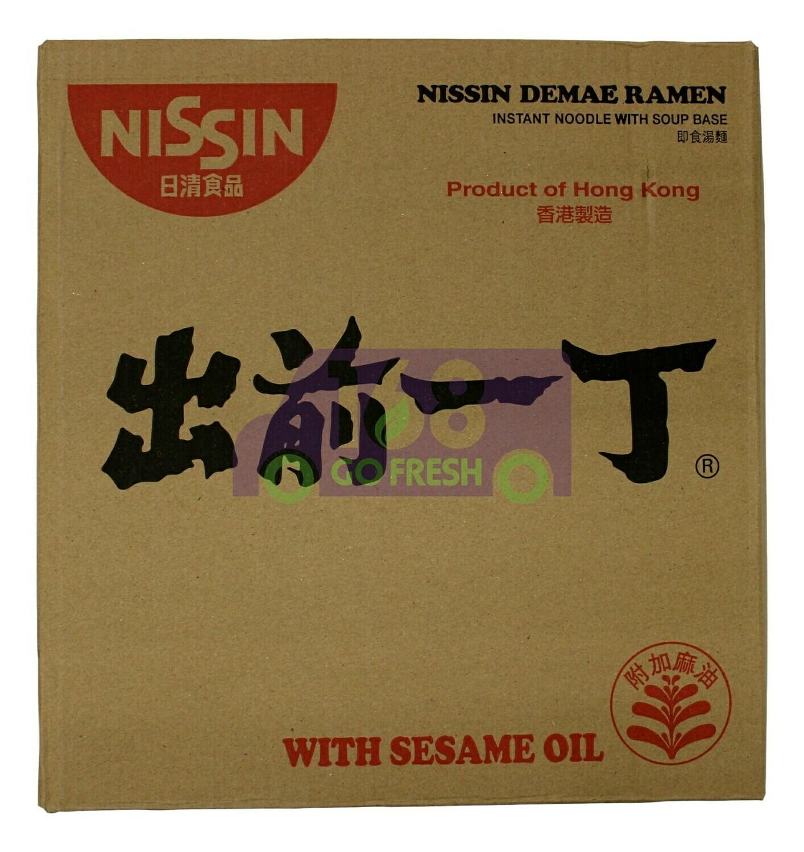 NISSIN Ramen Noodle 日本NISSIN日清 出前一丁方便面(一箱里30包)