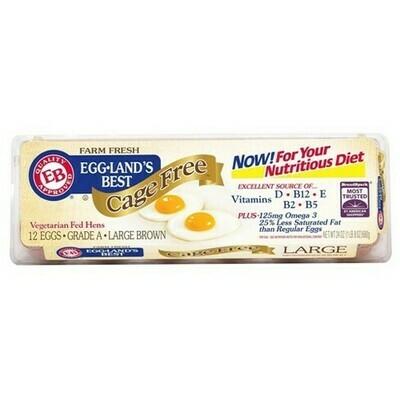 Egg Land's Best Eggs Cage Free 无笼子 走地鸡鸡蛋