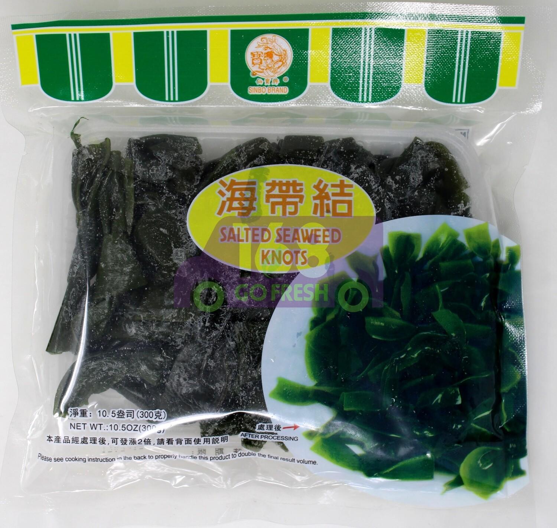 Salted Seaweed Knots 仙宝牌 海带结
