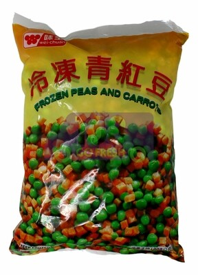 Wei-Chuan Frozen Peas and Carrots 味全 冷冻青红豆