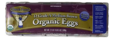 Dutch Farms Medium Organic Eggs 有机鸡蛋 (中)