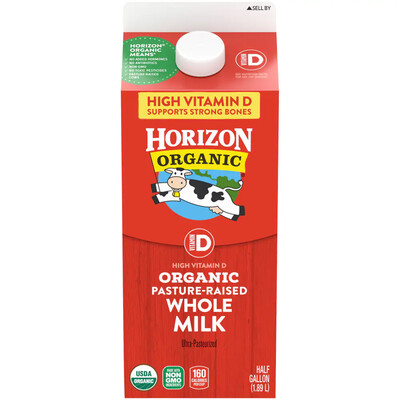 Horizon Organic Whole Milk 有机牛奶
