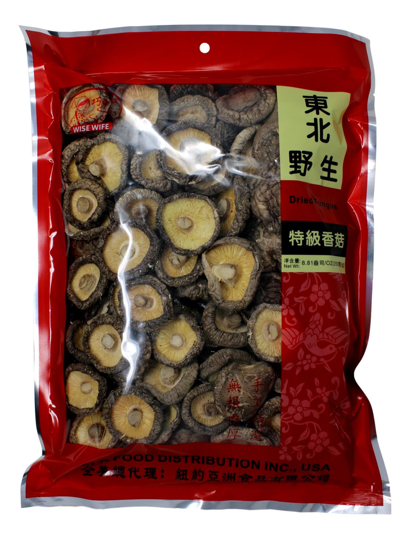 Wise Wife Dried Mushroom 巧媳妇 东北野生特级香菇