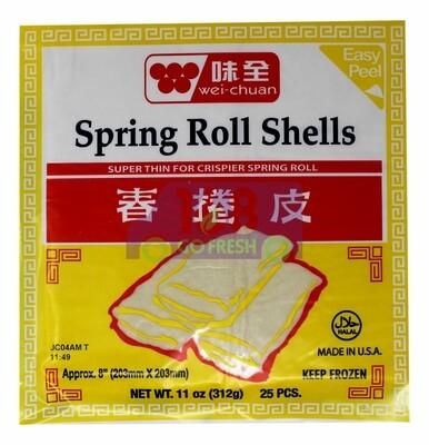 Wei-Chuan Spring Roll Shells 味全 春卷皮