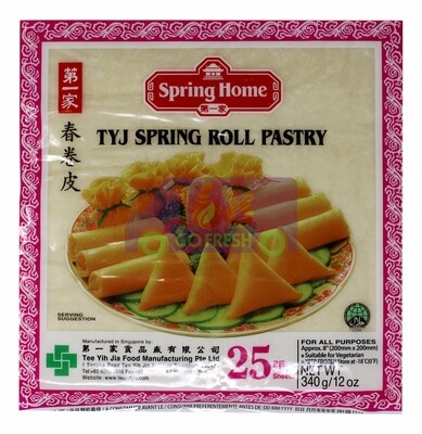 TYJ Spring Roll Pastry (8