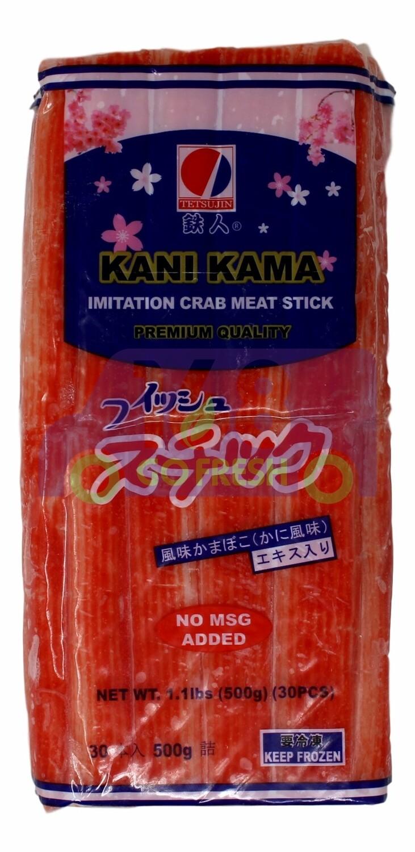 Tetsujin Imitation Crab Meat Stick 铁人牌 蟹肉条