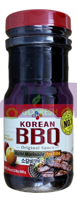 (大瓶)CJ BBQ Marinade  韩国 CJ 烧烤酱(840G)