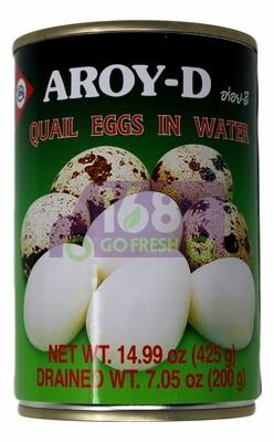 Aroy-D Canned Quail Eggs inBrine 铁罐鹌鹑蛋