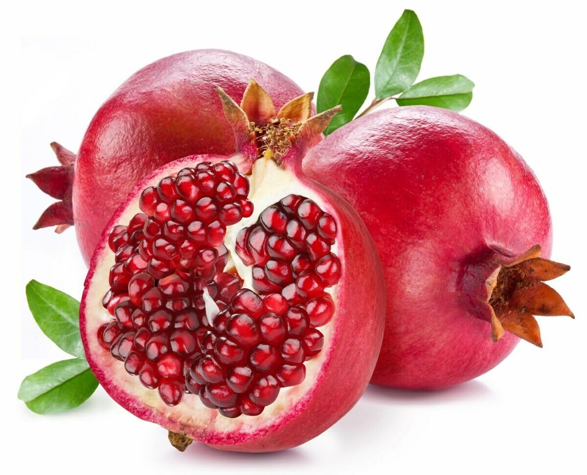 Pomegranate (1个 Count) 红石榴 (1个) 大约0.9-1.2LB